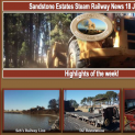 Sandstone Estates Steam Railway News 18 July 2016