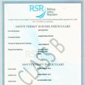 Railway Safety Regulator Permit
