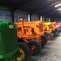 The Sandstone Tractor Collection.