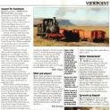 Narrow Gauge World article - Support for Sandstone