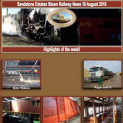 Sandstone Estates Steam Railway News 19 Aug 2016