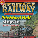 Heritage Railway UK Issue 285. The story of the recent loco moves to Sandstone.