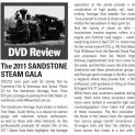 DVD Review: 2011 Sandstone Steam Gala