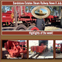 Sandstone Estates Steam Railway News 8 July 2016