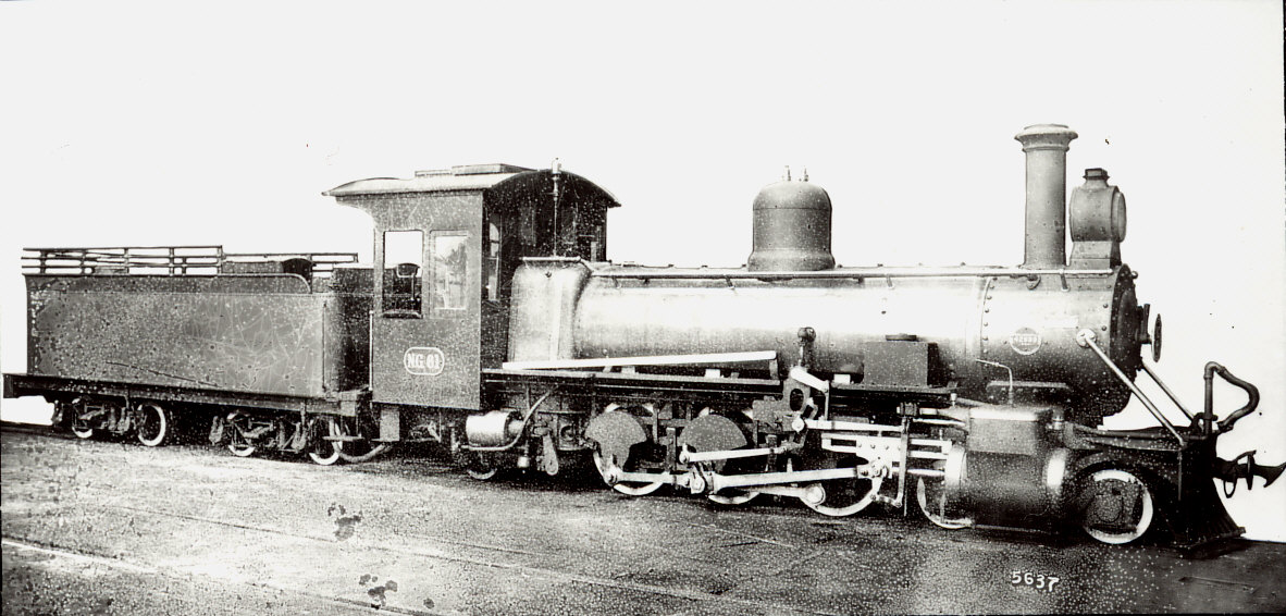 Class NG10 No. 61 Baldwin Works. coll Leith Paxton Copy