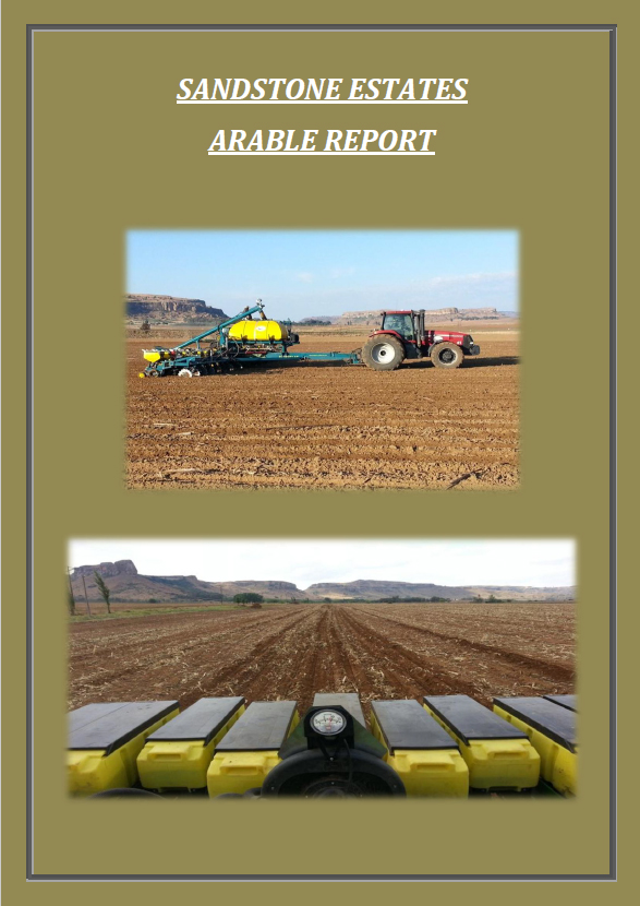 Sandstone Estates Arable Report January 2016 image