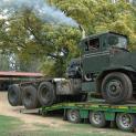 Sandstone commences restoration of rare 3-axle Oshkosh Tank Transporter