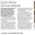HTN 171 - South African Sentinel restoration - Old Glory Magazine - January 2007