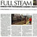 Full Steam Ahead fot Ficksburg Cerry Festival