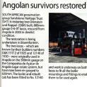 The Railway Magazine July 2015 - Angolan survivors restored by heritage trust